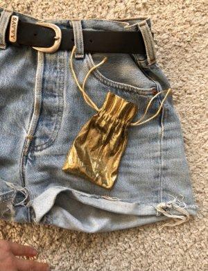 Etui voor sleutels goud