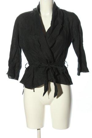 Schlüter Marynarka koszulowa czarny W stylu casual