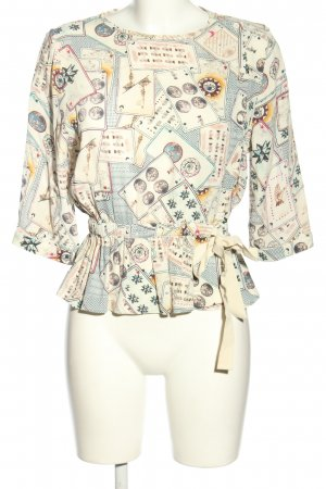 & other stories Slip-over blouse veelkleurig Viscose