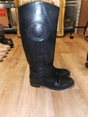 U.s. polo assn. Jackboots black leather