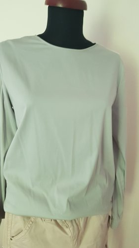Soluzione Blouse brillante blanc-gris clair