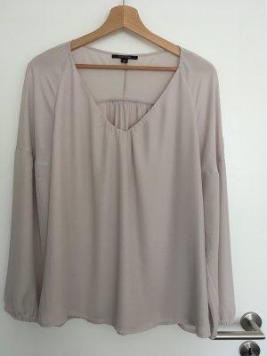 Comma Camicetta da notte marrone-grigio