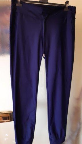 New Collection italy Pantalon large bleu-bleu foncé