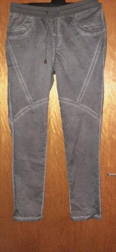 bpc selection Pantalone boyfriend grigio Cotone