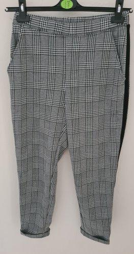H&M Divided Baggy Pants white-black