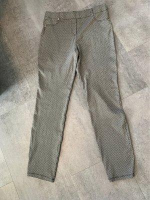 Canda Stretch broek zwart-wit