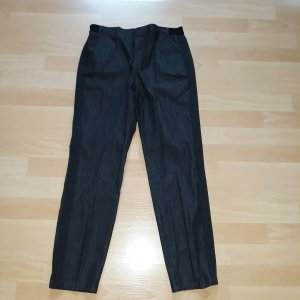 Opus Pleated Trousers black cotton