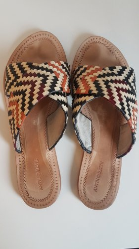 Antik Batik Roman Sandals multicolored leather