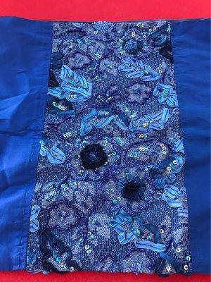 AnRa Tubesjaal blauw-staalblauw
