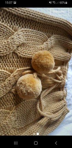 Apart Bufanda de lana camel