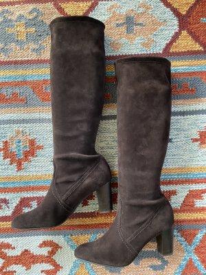 Peter Kaiser Stretch Boots dark brown-black brown