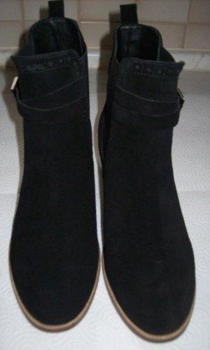 Mint&berry Slip-on laarzen zwart