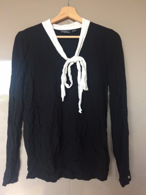Esmara by Heidi Klum Blouse avec noeuds noir-blanc