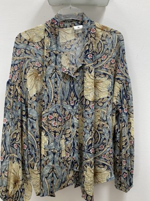 H&M Long Sleeve Blouse multicolored