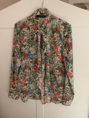 Schluppen-Bluse , Herbstfarben, Hingucker