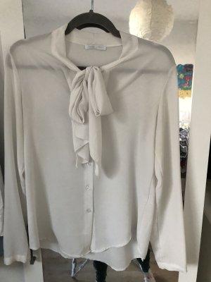 Blouse avec noeuds blanc
