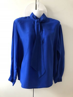 & other stories Blusa con lazo azul Viscosa