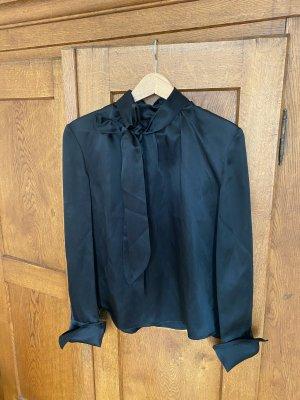 ARKET Bluzka z kokardą czarny