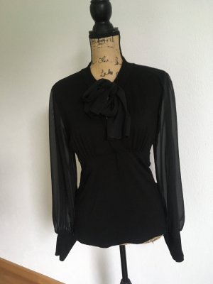 Votre Mode Tie-neck Blouse black