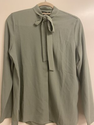 Lawrence Grey Tie-neck Blouse lime-green