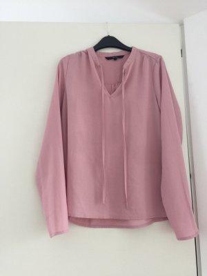 Vero Moda Blouse avec noeuds rosé