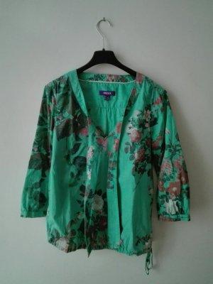 Mexx Tie-neck Blouse multicolored cotton