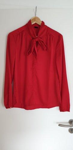 s.Oliver Black Label Tie-neck Blouse red
