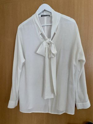 laurel jeans Blouse avec noeuds blanc