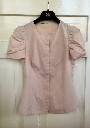 COS Blouse à manches courtes rosé coton