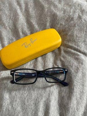 Schmale Brille von Ray Ban mit Verdunklung