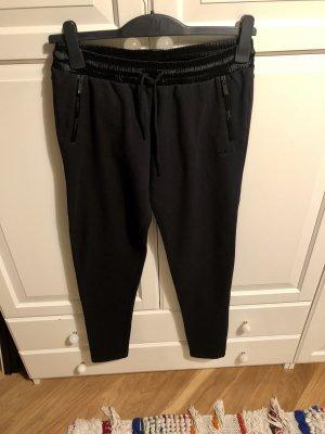 Adidas Originals Pantalone fitness nero Cotone