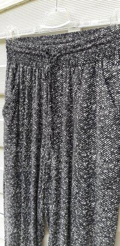 1.2.3 Paris Stoffen broek wit-zwart