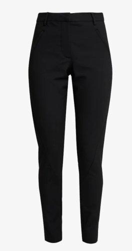 Schmale schwarze Hose, Herstellergrösse 31