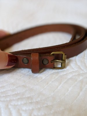 H&M Divided Leather Belt brown