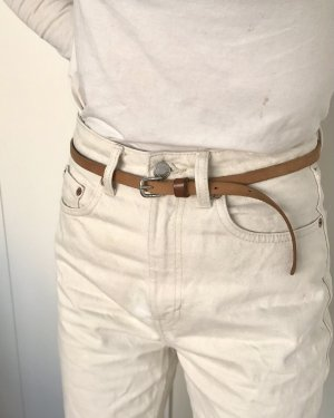 H&M Leather Belt brown-cognac-coloured