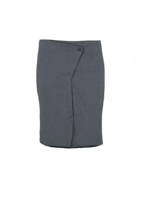 Schmaler Rock, grau, Bleistiftrock, Business Look, Pencil skirt