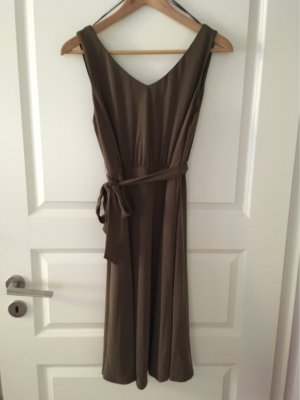 Comma Empire Dress taupe