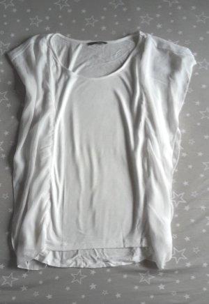 H&M Oversized Shirt white-natural white