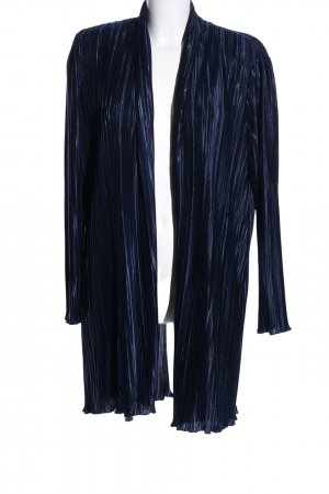 Schmeinck Cardigan blau-schwarz Streifenmuster extravaganter Stil