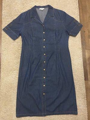 Schmeinck Jeansowa sukienka niebieski-stalowy niebieski