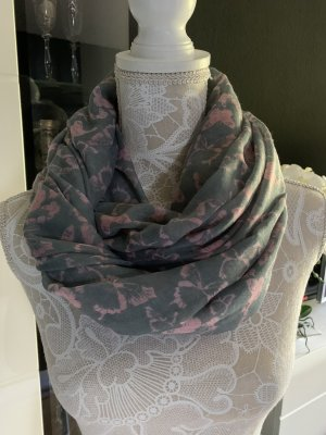 Anna Field Summer Scarf grey-dusky pink