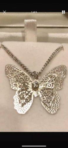 Schmetterling Filigran Halskette ca 47 cm