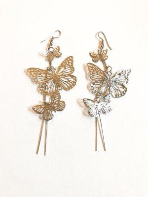 Schmetterling Ohrringe silber