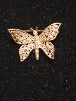 Schmetterlinge Silber 835 Brosche