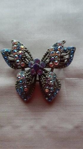Brooch purple-lilac