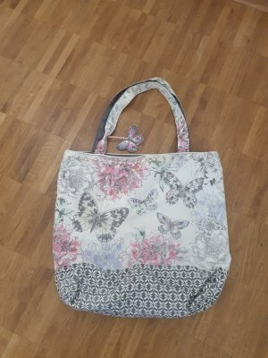Canvas Bag grey-pink