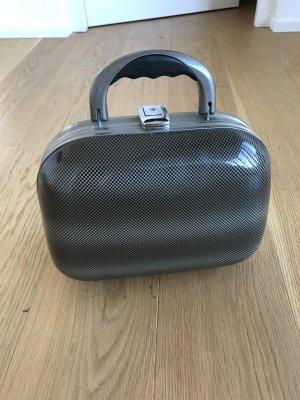 Cosmeticabox lichtgrijs-grijs