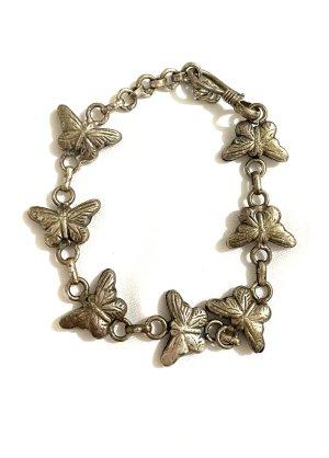 Schmuck Armband Schmetterlinge  Länge 21 cm Vintage