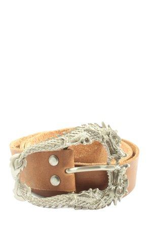 schmuck-art Hebilla del cinturón naranja claro look casual