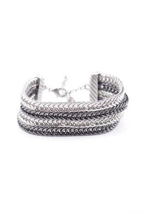 schmuck-art Zilveren armband zilver casual uitstraling